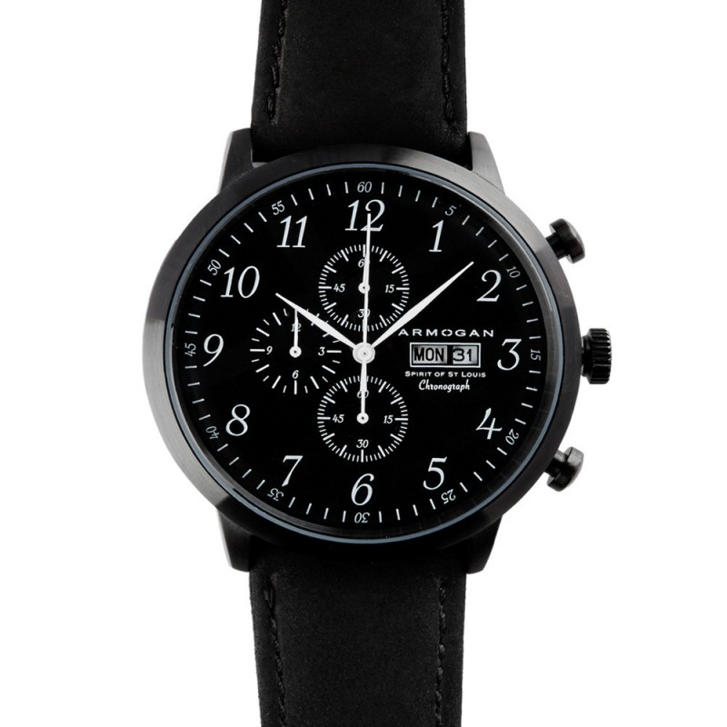 Montre Spirit Of St. Louis Midnight Black - Armogan