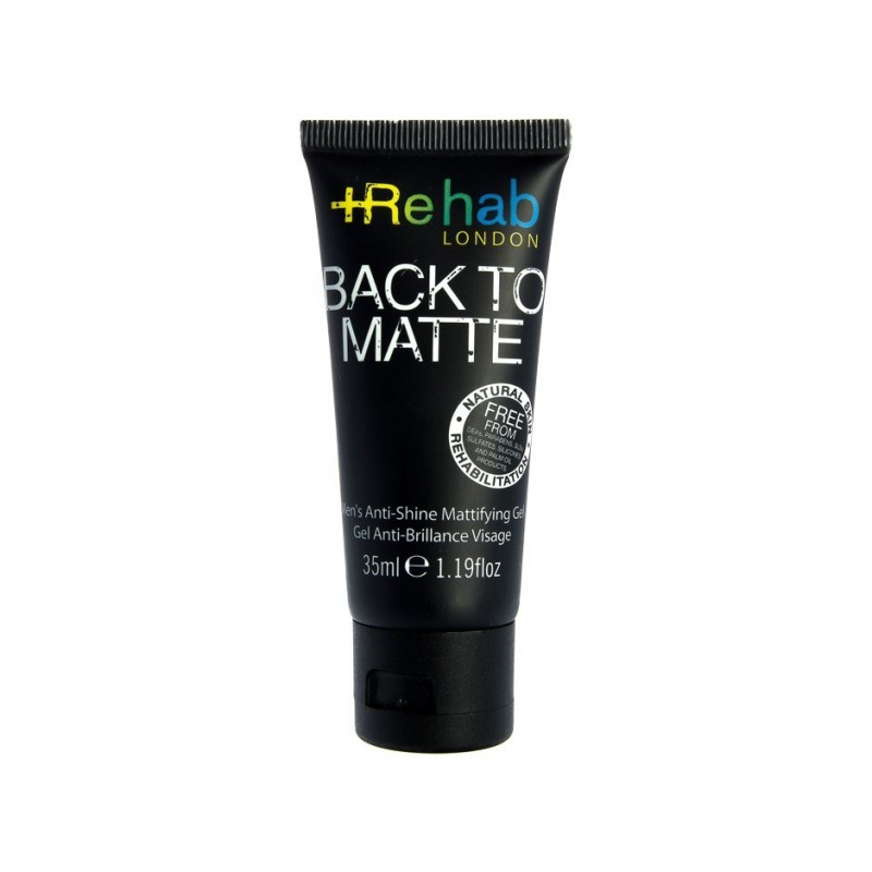 Gel Anti-Brillance pour le Visage - Rehab London
