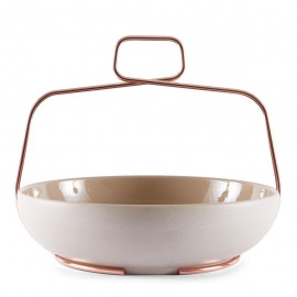 Coupe à Fruits Muselet Beige
