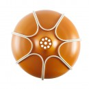 Suspension Design Tull Orange et beige - Incipit