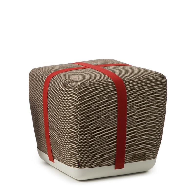 Pouf Sake Small Marron